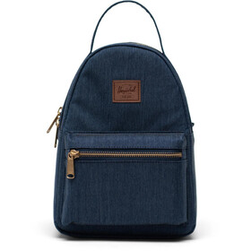 Herschel Nova Mini Plecak 9l, indigo denim crosshatch